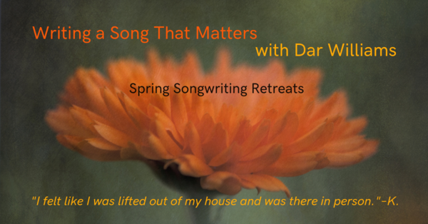 Spring Songwriting Reteats!