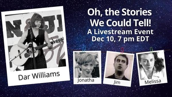 Live streamed show  Thursday December 10 700 pm EST