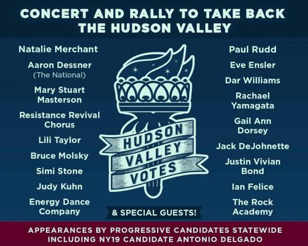 HUDSON VALLEY VOTES - nbspOctober 20th at UPAC