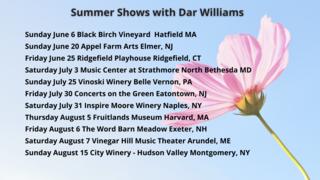 SUMMER DATES 2021
