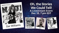 Live streamed show  Thursday December 10 700 pm EST